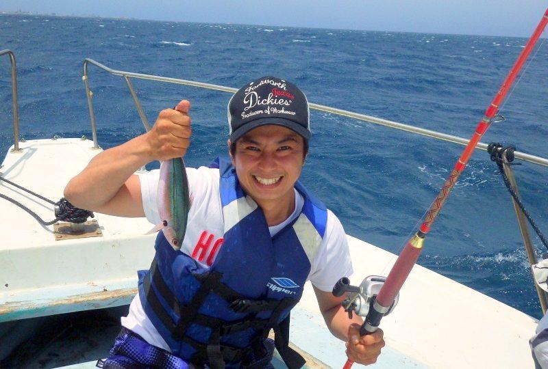 沖縄の海人と行く!半日船釣りツアー!