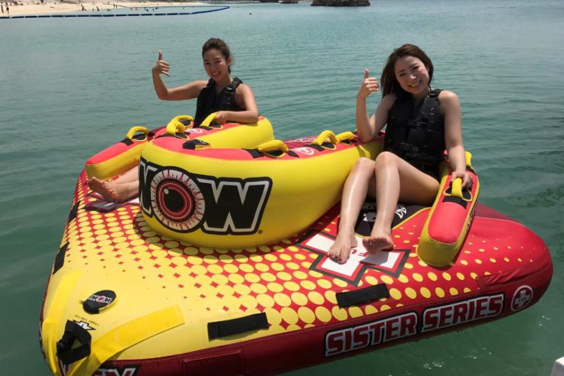 好きなバナナボート系を3種類自由にチョイス!